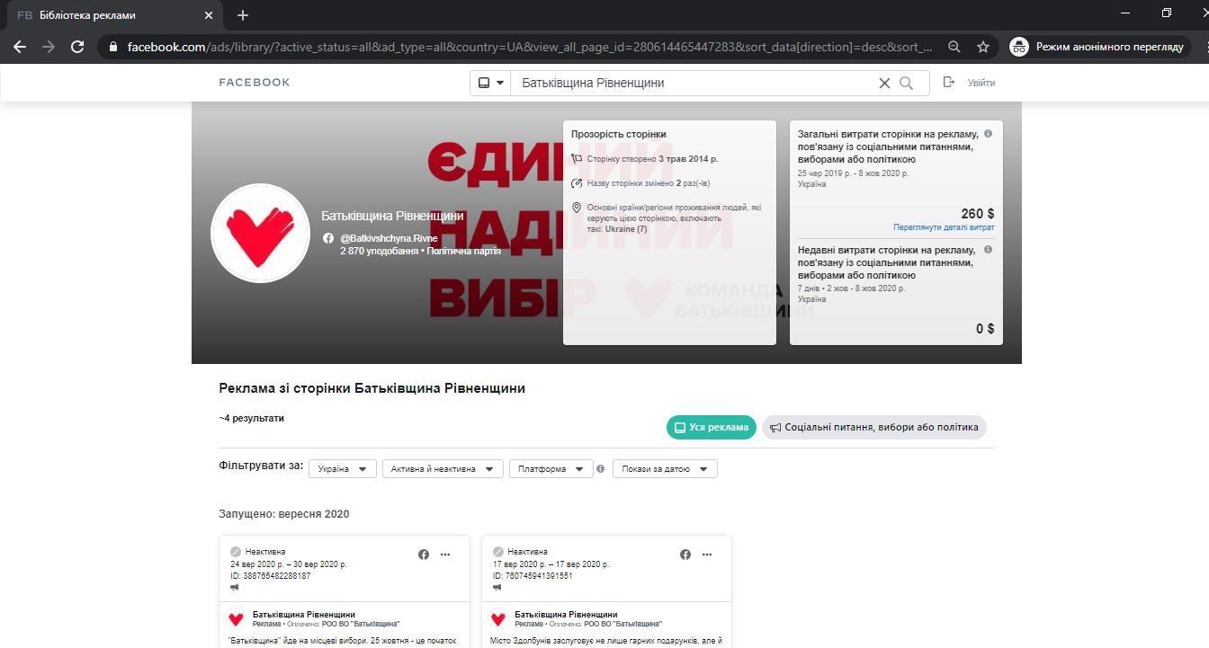 Як партії використовують Facebook для популяризації своєї діяльності на Рівненщині, фото-1